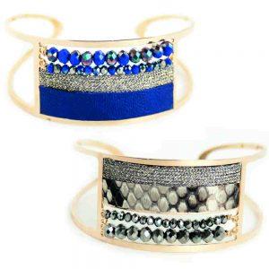 Gwapita / Bracelets manchettes