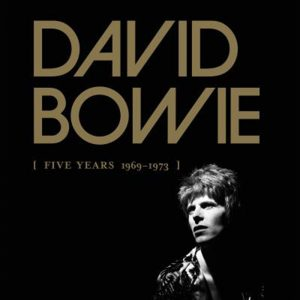 "Coffret Album Davi Bowie ""Five Years 1969-1973"""