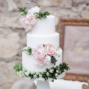 Le bonheur en blanc - Made In Cake - Marie Claire Méditerranée