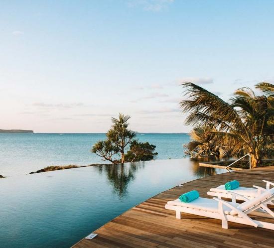 L'escapade romantique à l'île Maurice - Paradise Cove Boutique Hotel - Infinity Pool - Marie Claire Méditerranée