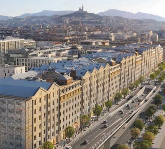 Les Docks de Marseille Marie Claire Méditerranée