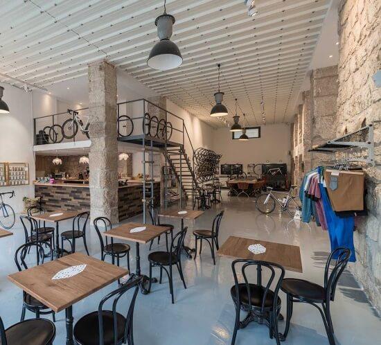 Toutes au sport - Le Cafe du Cycliste