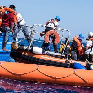 SOS Méditerranée à bord de l'Aquarius