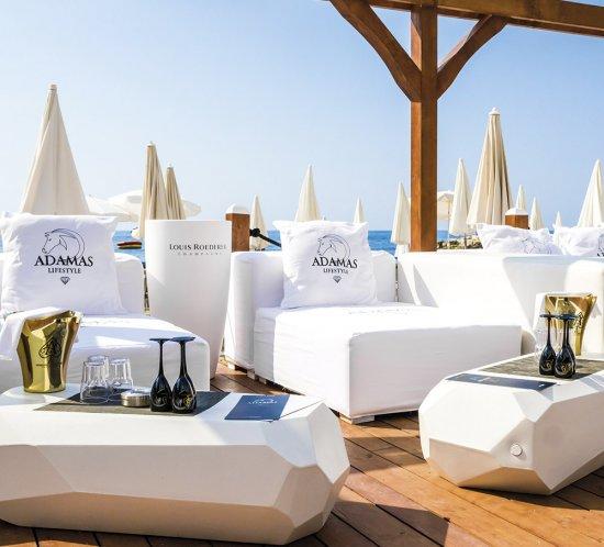 Adamas Lifestyle, le nouveau concept de Beach Lounge à Monaco