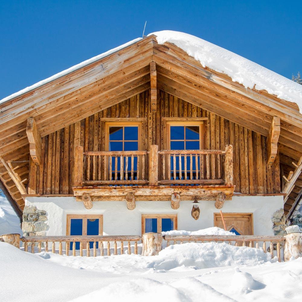 BNBKEYS-Chalet-station ski neige