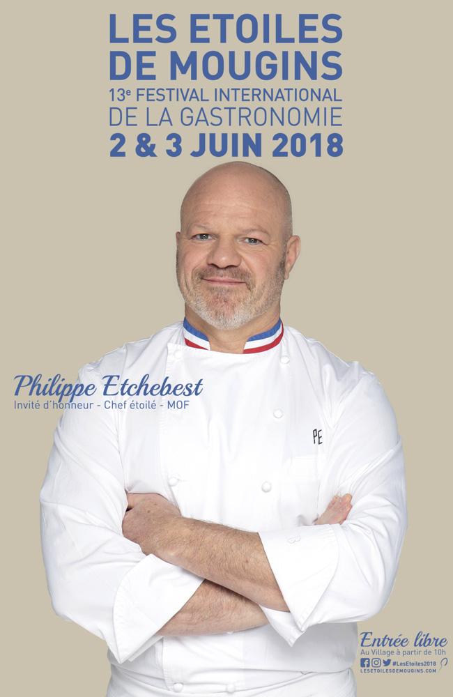 les-etoiles-de-mougins-2018-Affiche philippe etchebest
