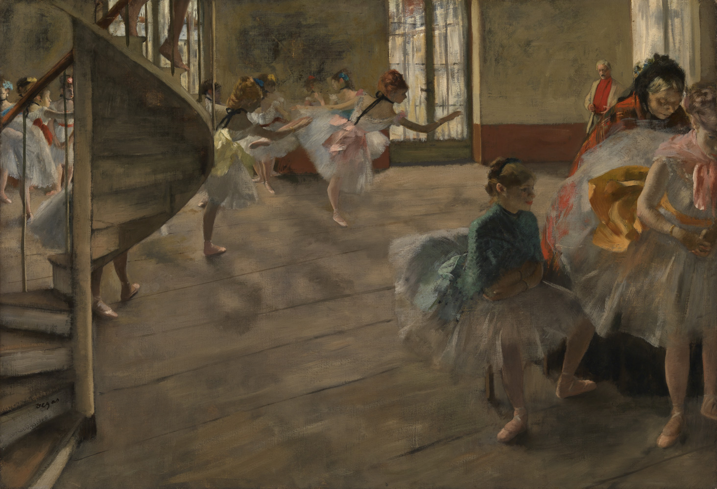 ville-marseille-collection-burrell-DEGAS-LA-REPETITION