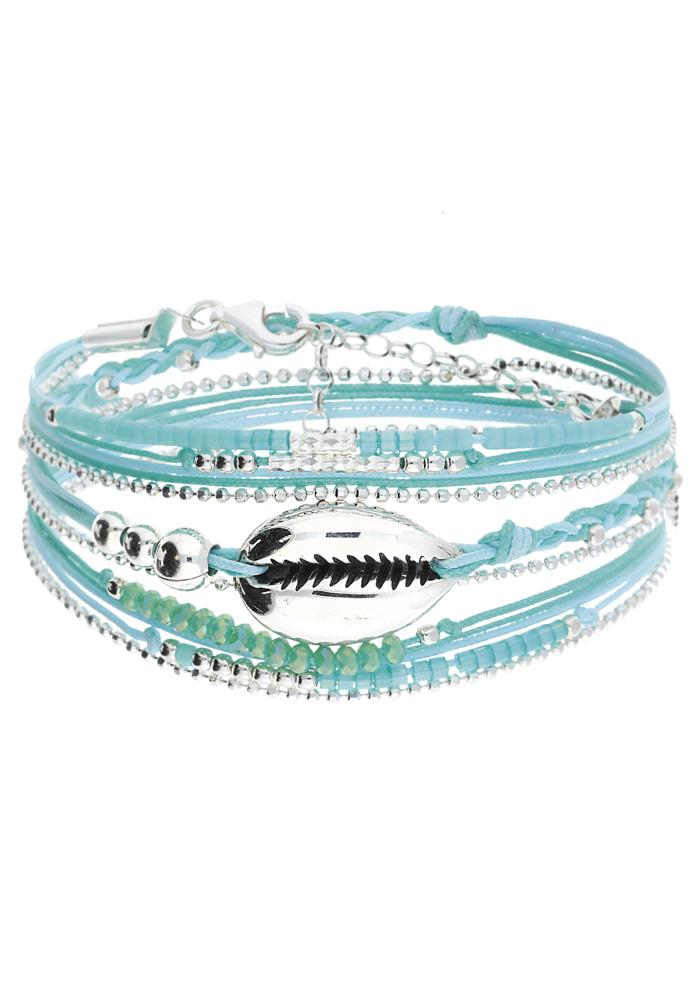 vitrine-souvenirs-du-sud-doriane-bijoux-Bracelet-Cauris-bleu