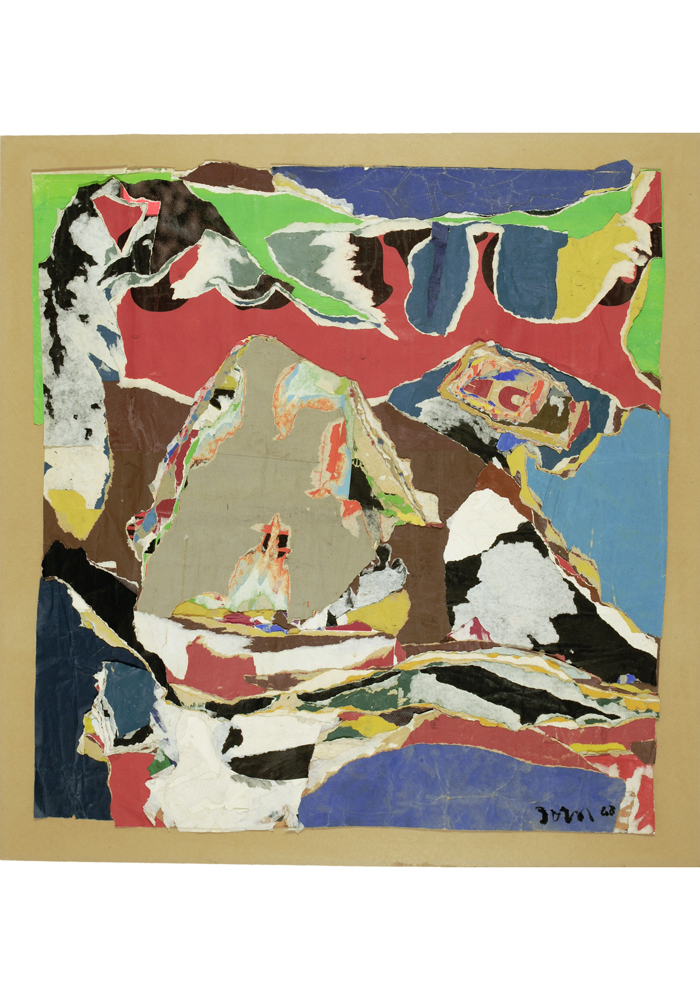 collectionneurs-art-galerie-birch-monaco-Asger-Jorn-Le-bateau-bouche-1968-decollage-69x65-cm