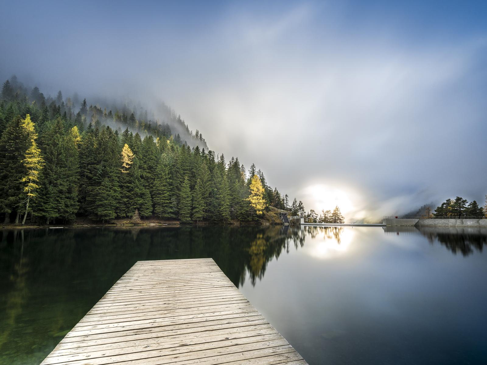 sur-les-pistes-de-ski-Lac-du-Boreon