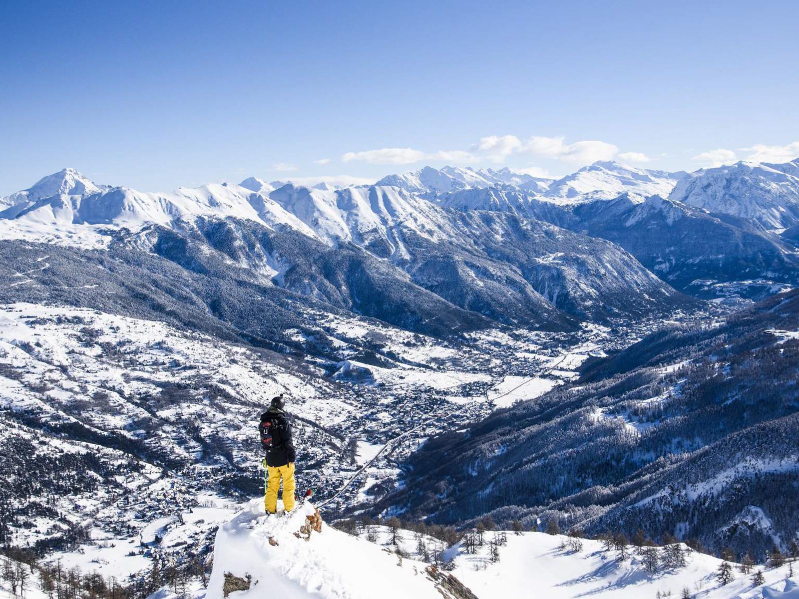 sur-les-pistes-de-ski-serre chevalier