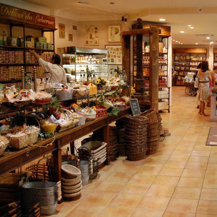 les delices du luberon interieur boutique provence