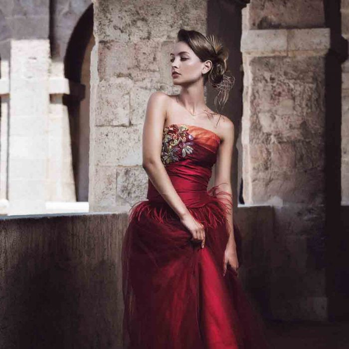 sandrine-godin-maison-couture-robe-cocktail-rouge