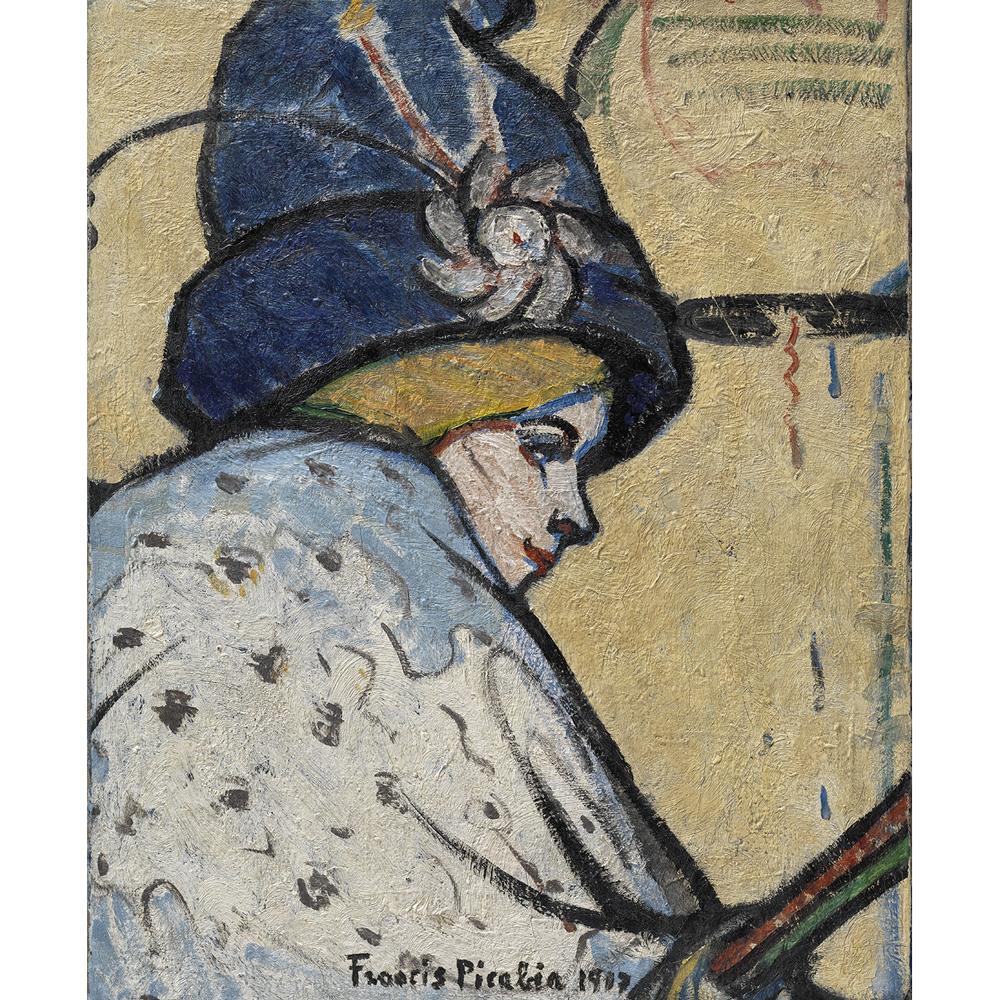 culture-agenda-mai-Francis-Picabia-Portrait-de-Mistinguett-vers-1908-1911-huile-sur-toile-Solomon-R.-Guggenheim-Museum-New-York-©-Adagp-Paris-2018