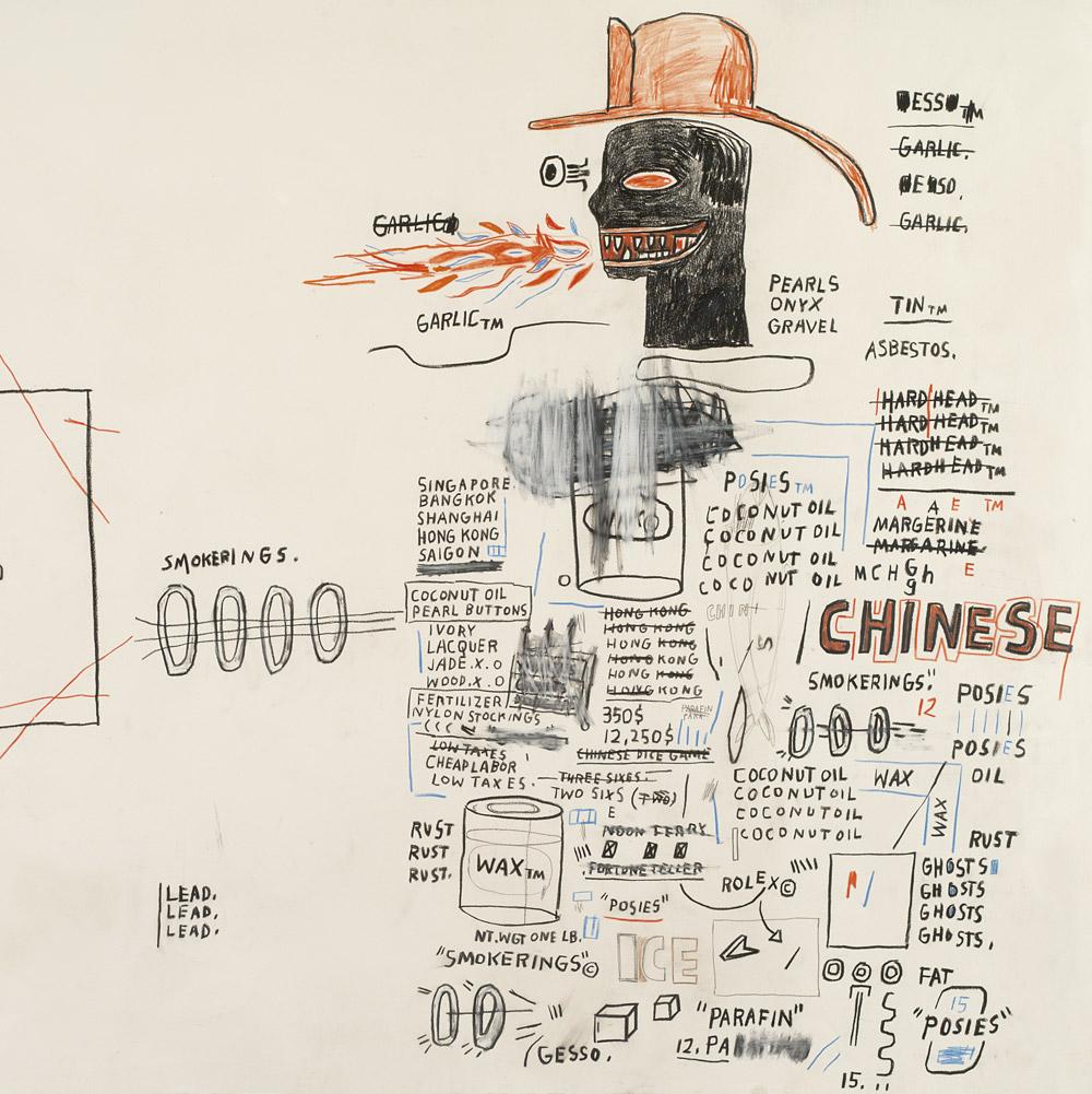 parcours-expos-ete-Jean-Michel-Basquiat-chateau-la-coste--1984-Untl.-(Chinese)-#357-(HD2017)