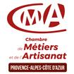 logo chambre metiers artisanat region paca