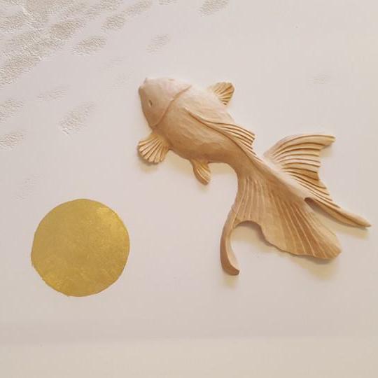AURELIE-ROMANO-poisson-bois-dorure