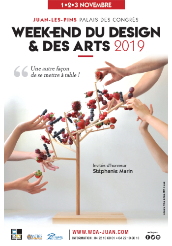 affiche Week-end Design & Arts Antibes 2019