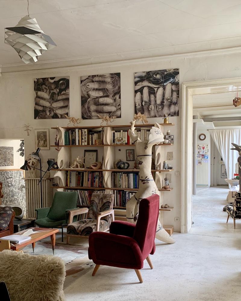cote-culture-expos-hiver-galerie-melissa-paul-nice-Appartement-de-l'artiste-Paris-IIIeme