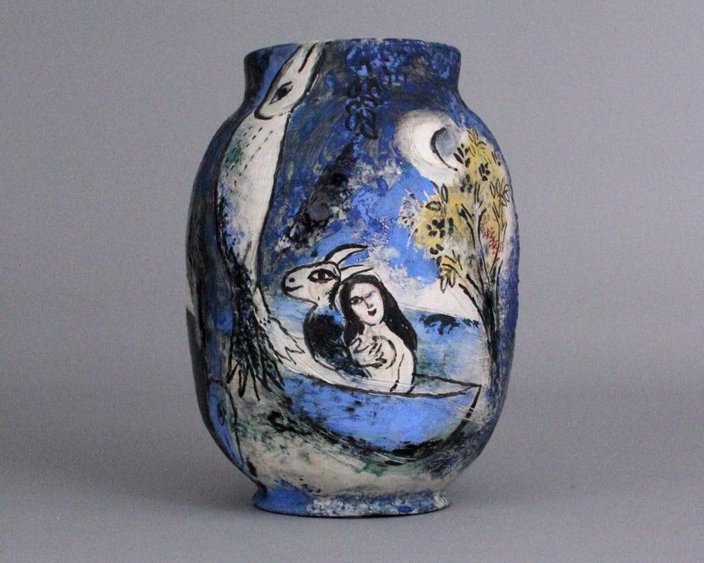 Culture-Cote-d'Azur-Chagall-Sur-la-terre-des-dieux-Marc-Chagall-et-le-monde-grec-1952-Le-songe