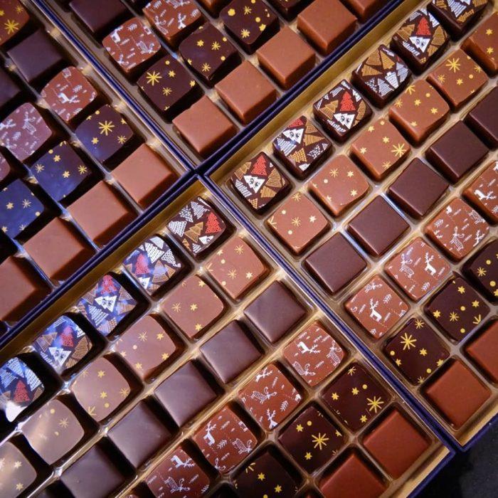 Aline Gehant Chocolatier coffrets chocolats praline