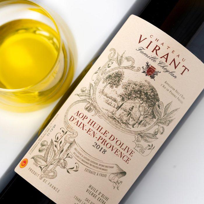 Chateau-Virant-huile-olive-AOP-Aix-en-Provence