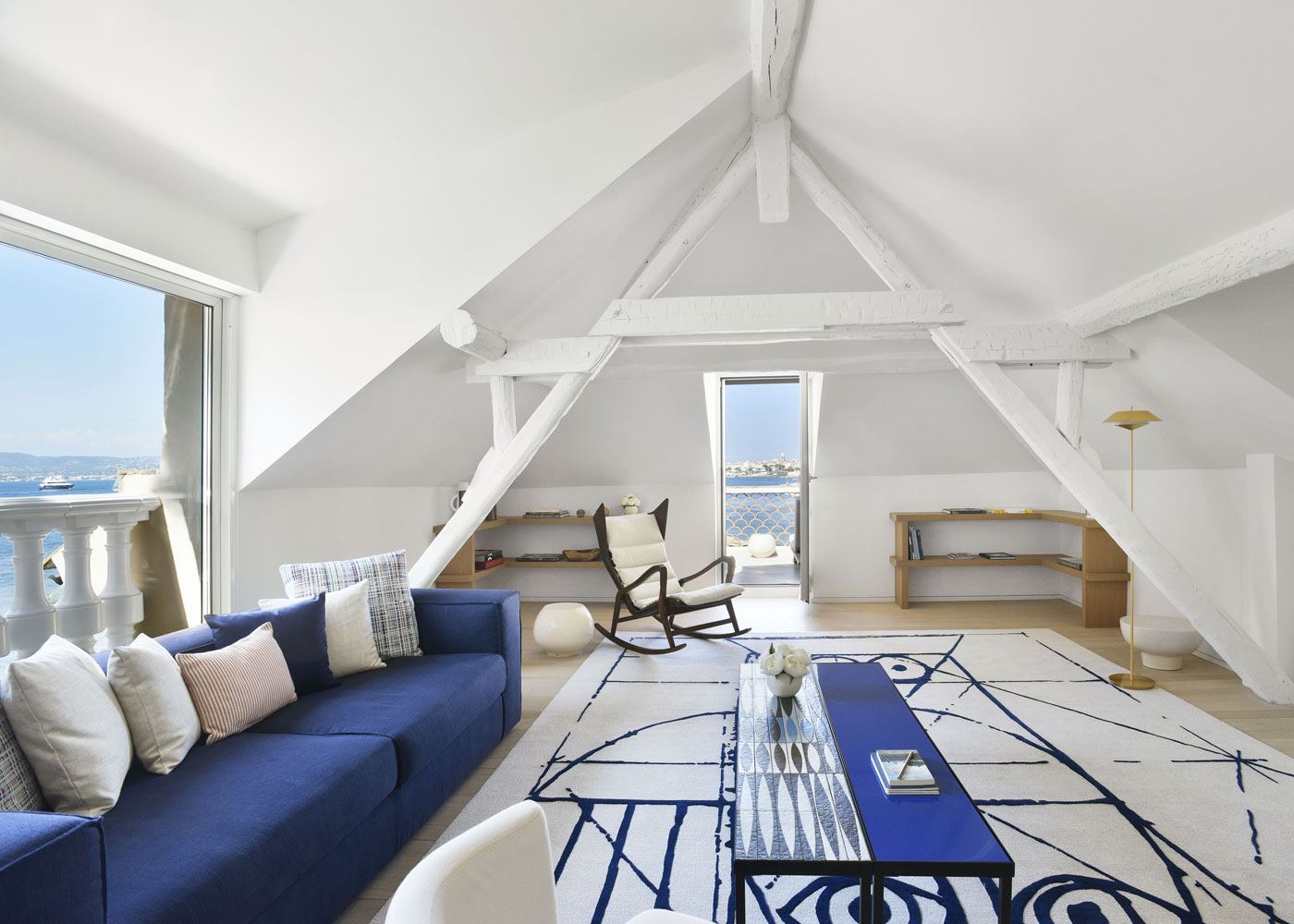 Cheval-Blanc Saint-Tropez - Duplex Pinede Suite Living Room_ V Mati