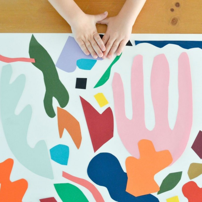 Decoupage matisse couleurs © Playful Learning