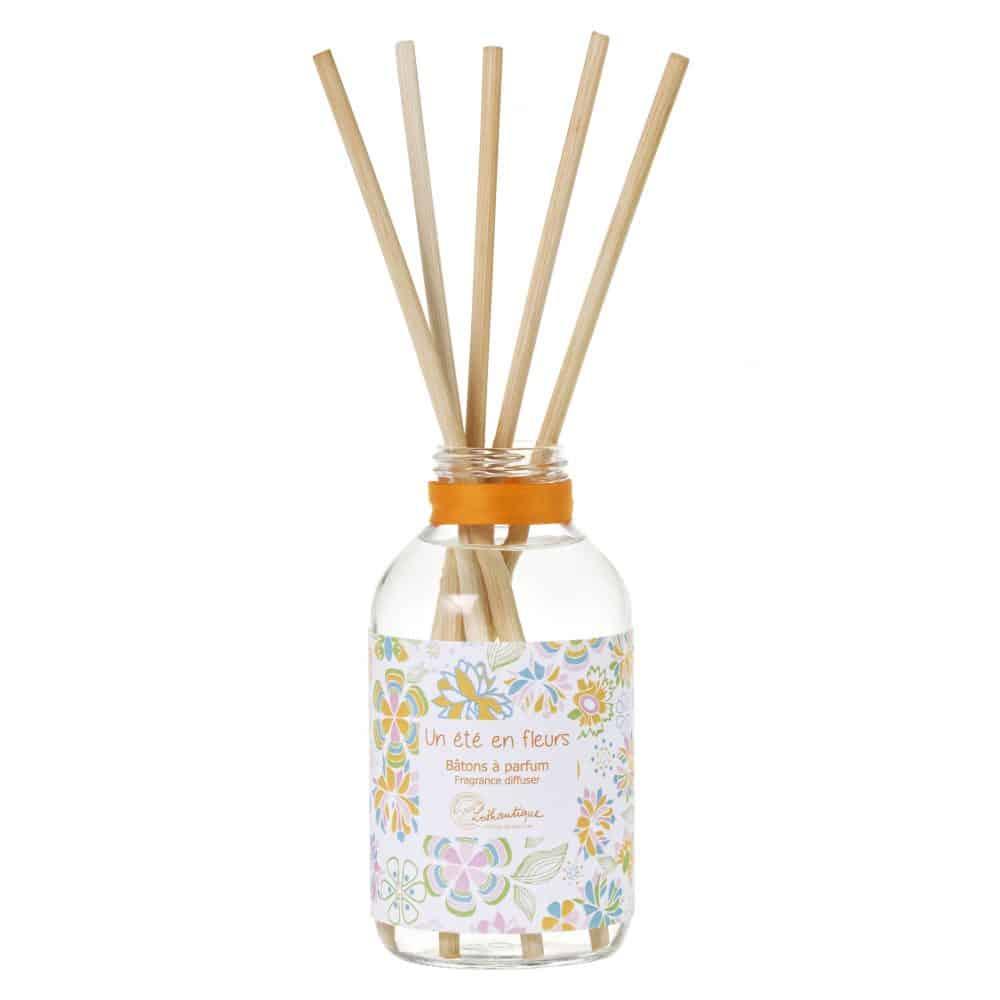 vitrine deco printemps lothantique batons parfum