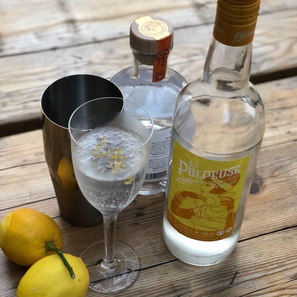 Cocktail La Pulpeuse Gin