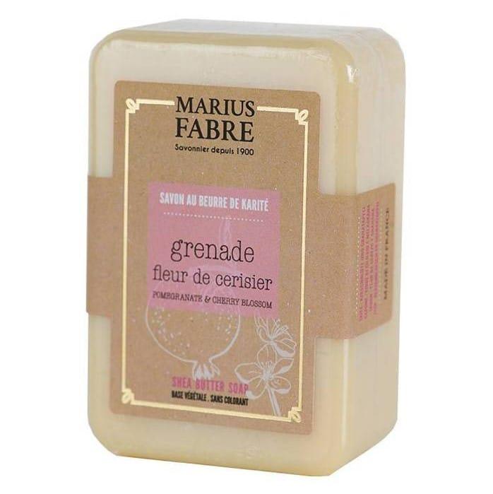 Marius Fabre savonnette-au-beurre-de-karite-fleur-de-cerisier-et-grenade