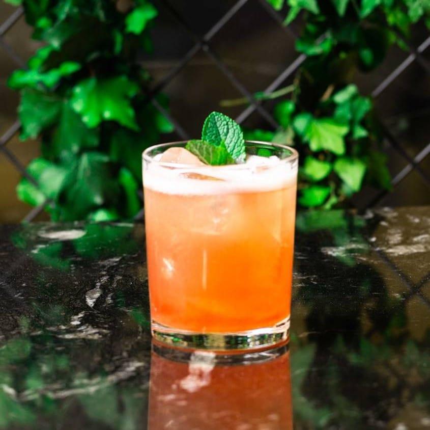 Montrose cocktail La Mentheuse par Julien Escot