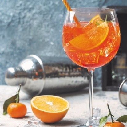 cocktail spritz perlino