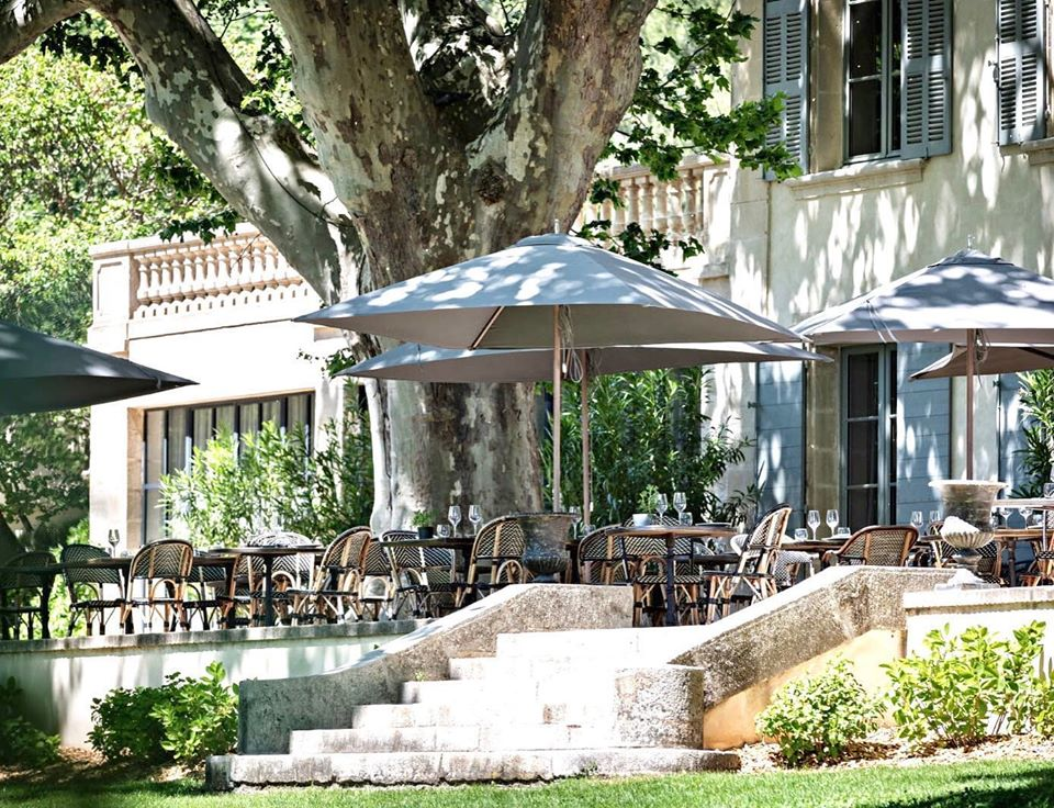Domaine de Fontenille Lauris restaurant Le Champ des Lunes