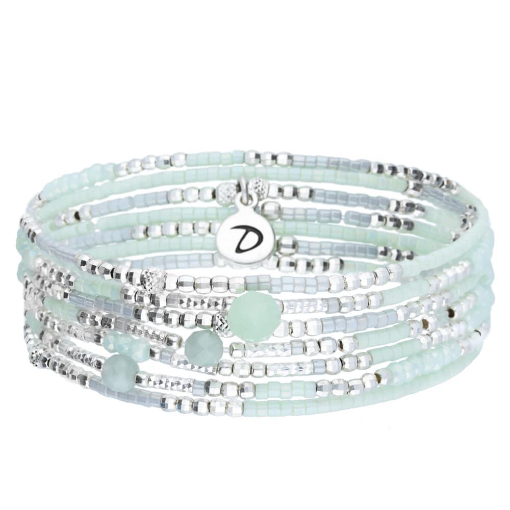 vitrine-ete-doriane-bijoux-bracelet-elastique-7-rangs-Lollipop-vert-clair