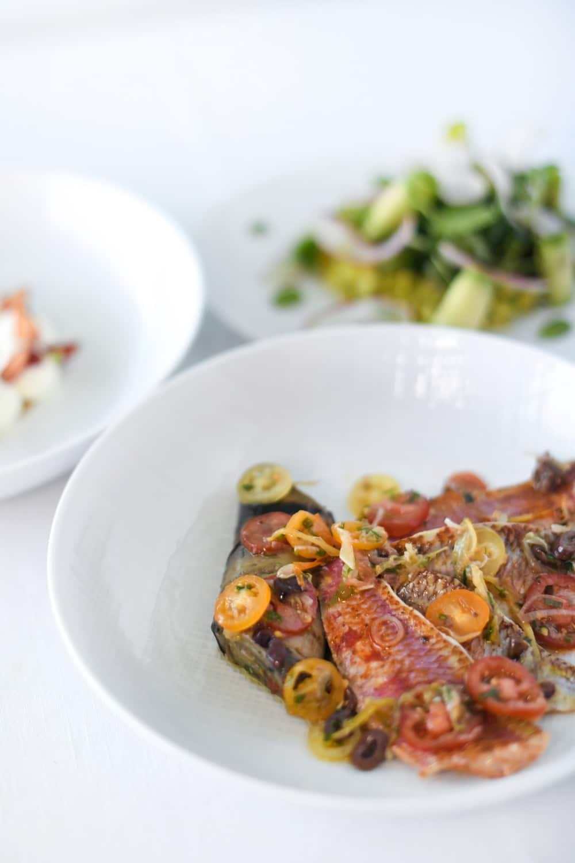 Battle-fraicheur-beauté-menu-bien-etre-clarins-hotel-de-paris-saint-tropez-rougets-de-roche-et-canelloni-aubergine