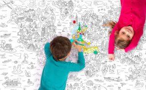 Les-Jouets-Francais tapis a colorier