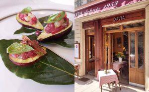 recette avocats bonite restaurant chef Pierre Altobelli chez davia nice