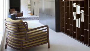 Ligne-Roset-Philippe-Nigro-fauteuil Flax-ambiance-salon