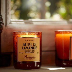 bougies parfumees bastide miel de lavande