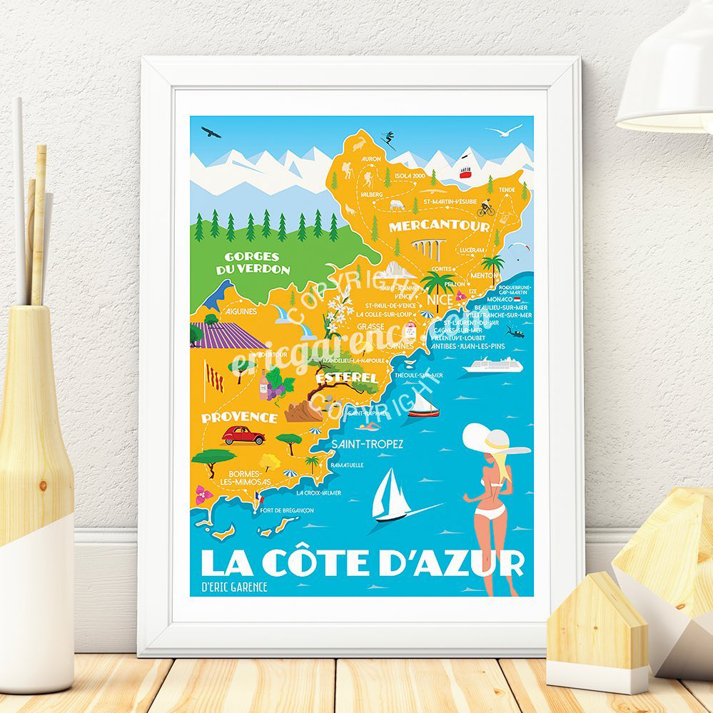 Capsule@Cap3000-Eric-Garence-affiches-Cote-d'Azur