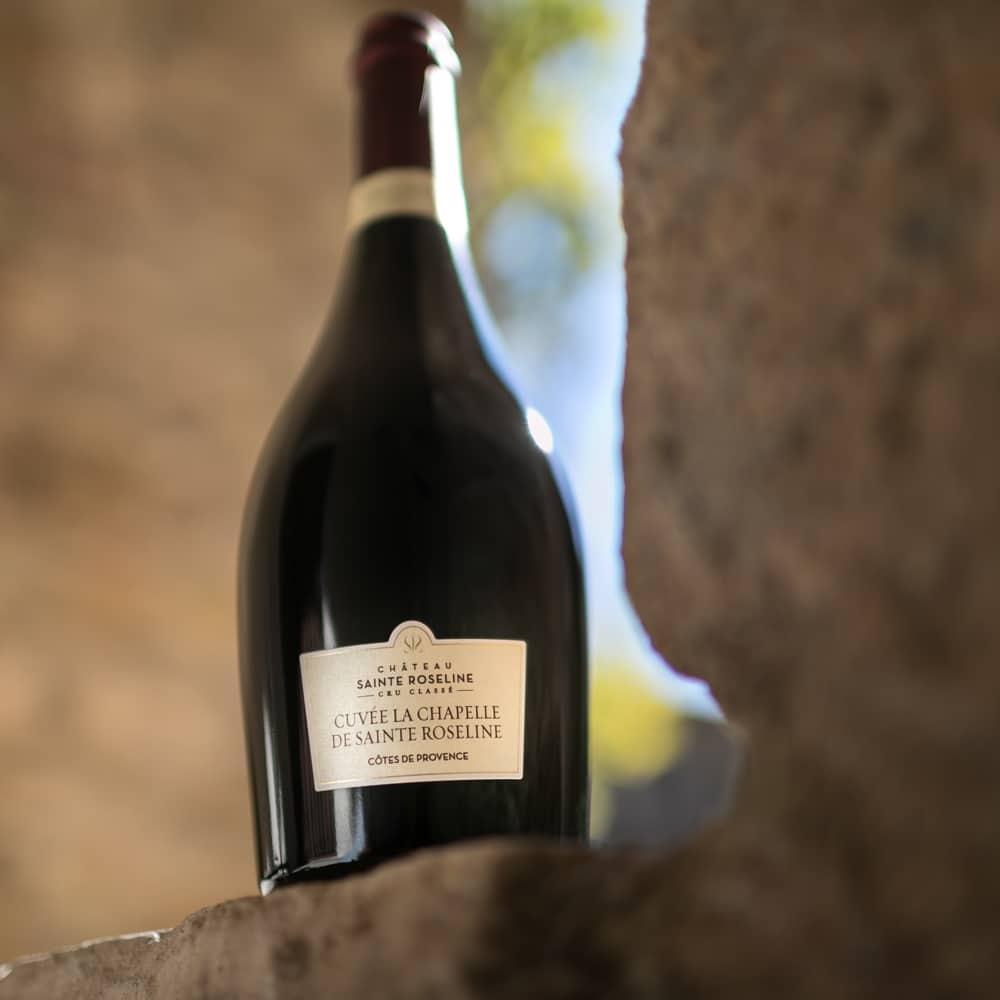 Vitrine-Gastronomie-Fetes-Chateau-Sainte-Roseline Cuvee La Chapelle