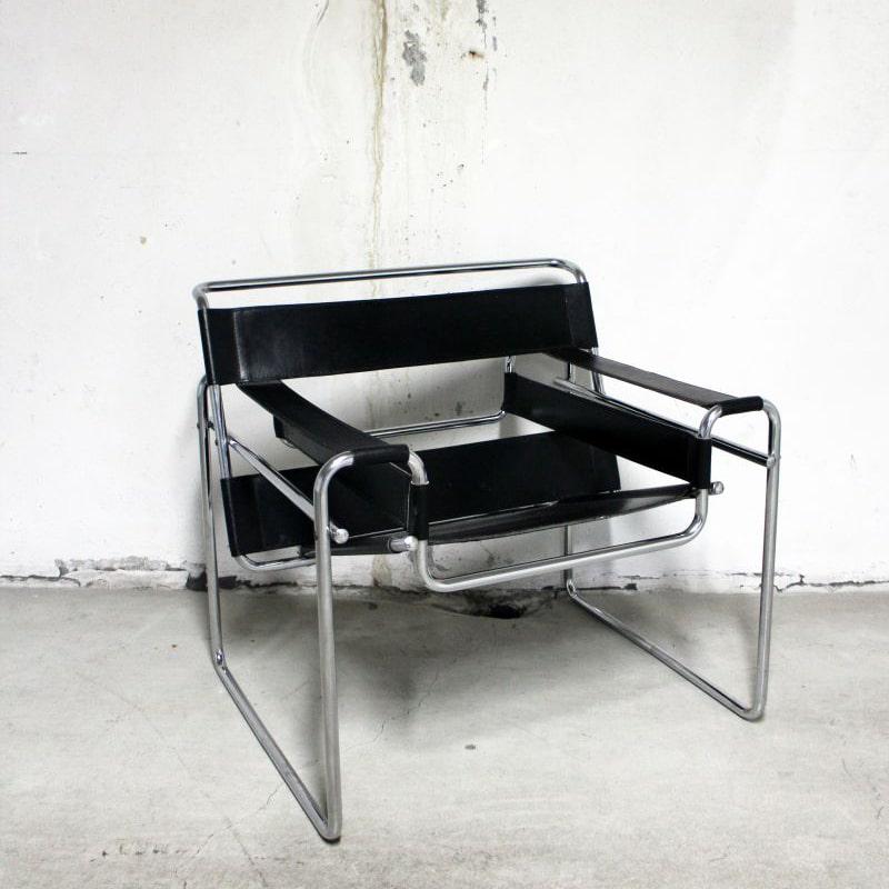 Luckyfind-chaise-cuir-noir