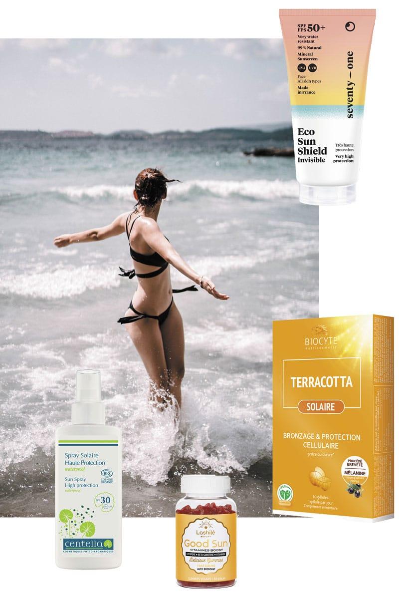 cosmétiques produits solaires Sud marques créatives