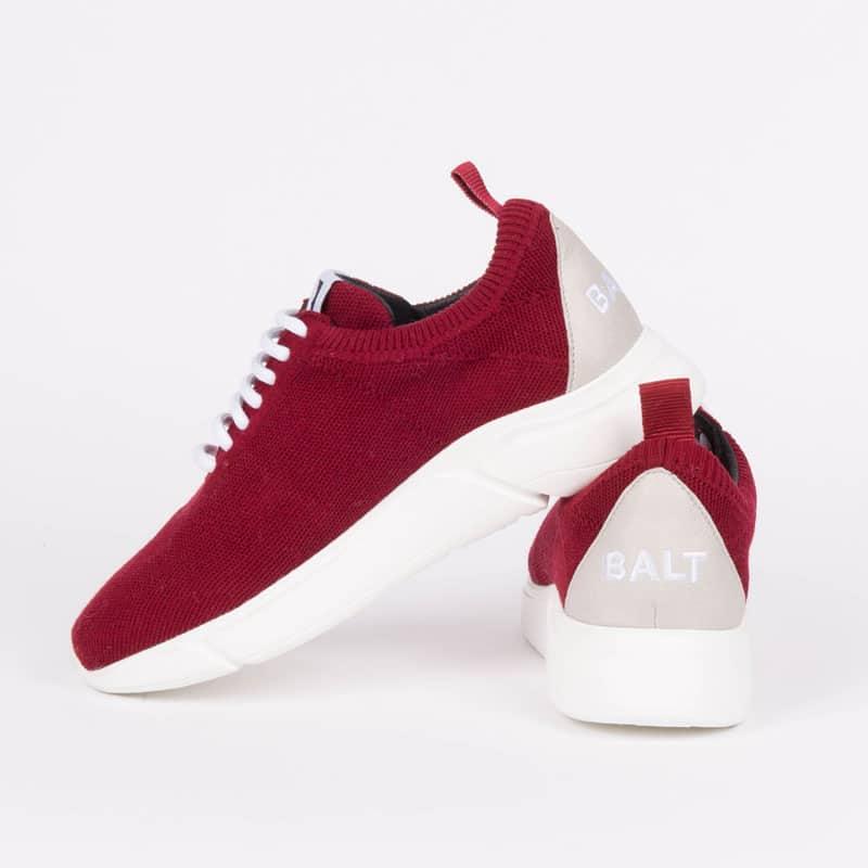 sudnly-sneakers-eco-responsables-BALT-Modèle-Knit-Restart-Burgundy